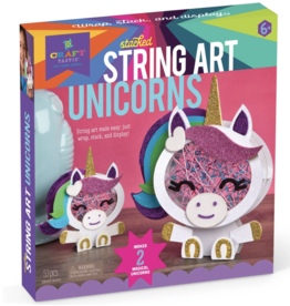 Ann Williams Craft-tastic Stacked String Art Unicorns