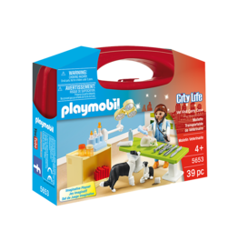 Playmobil City Life Vet Visit Carry Case (5653)