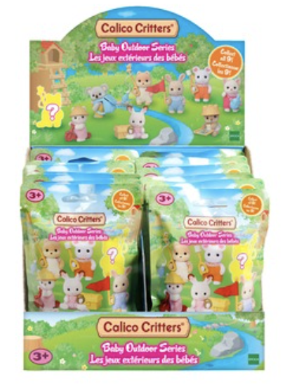 Calico Critters Baby Collectibles Baby Camping Series