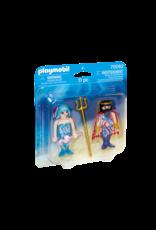 Playmobil Sea King and Mermaid