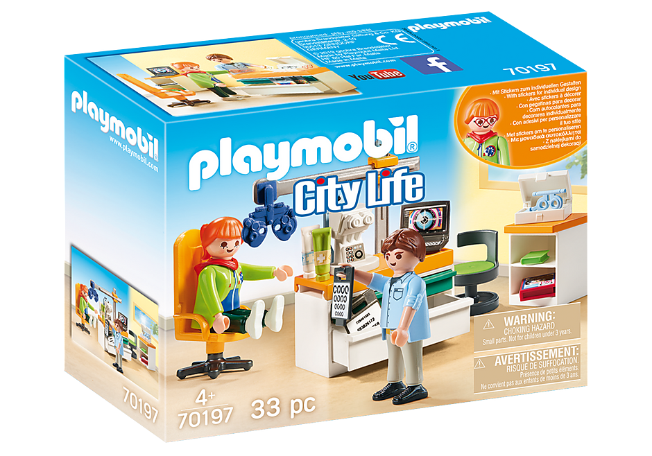 Playmobil Eye Doctor