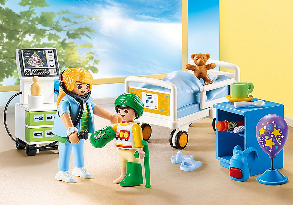 Playmobil Children's Hospital Room