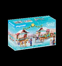 Playmobil Spirit A Miradero Christmas