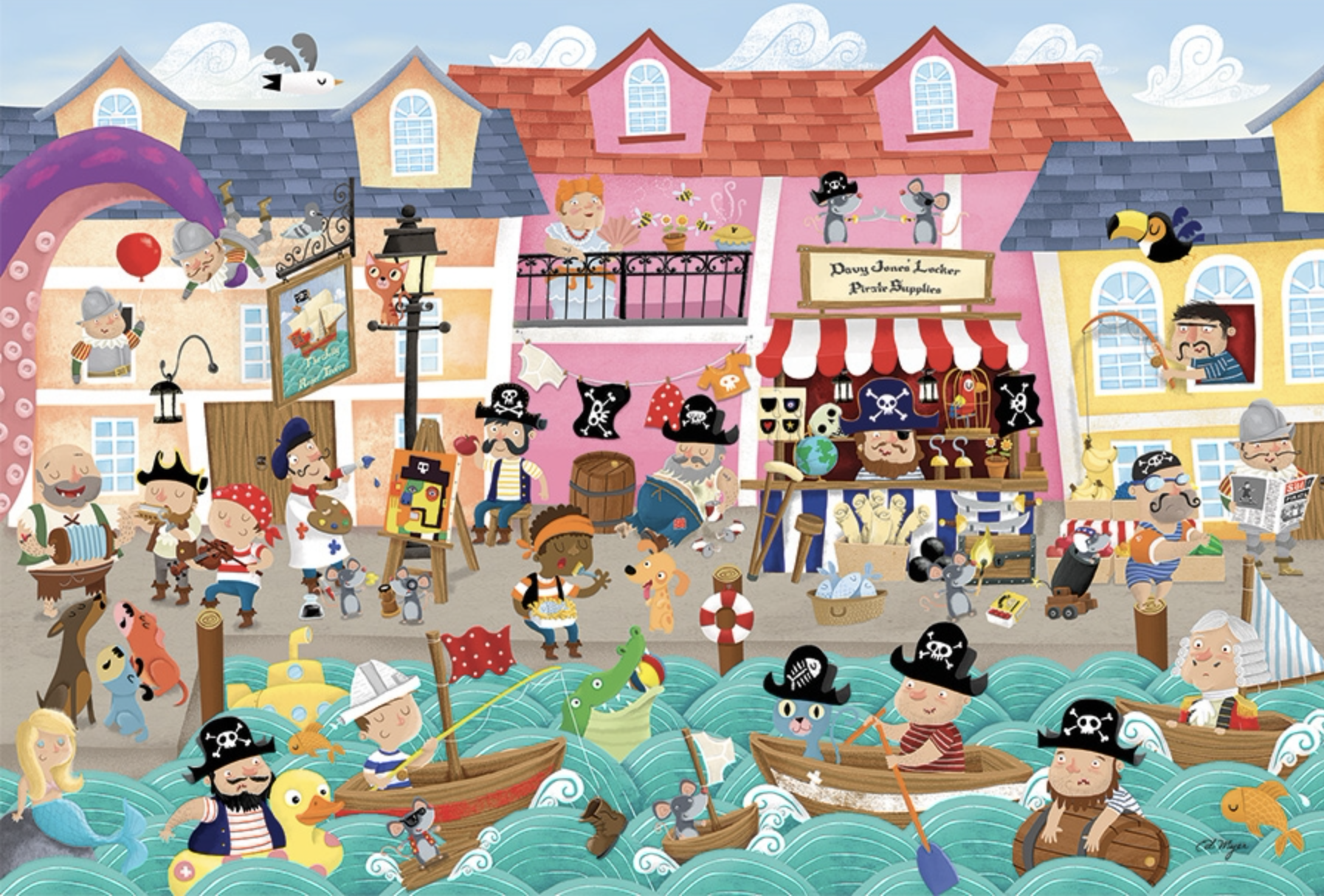 Cobble Hill Pirates on Vacation