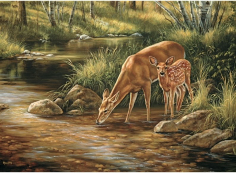 Cobble Hill Deer Family (Family)