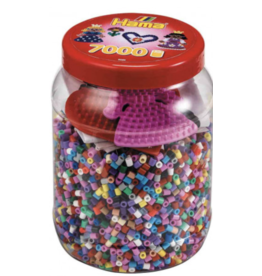 Hama Hama Beads Tub 7000k with peg boards
