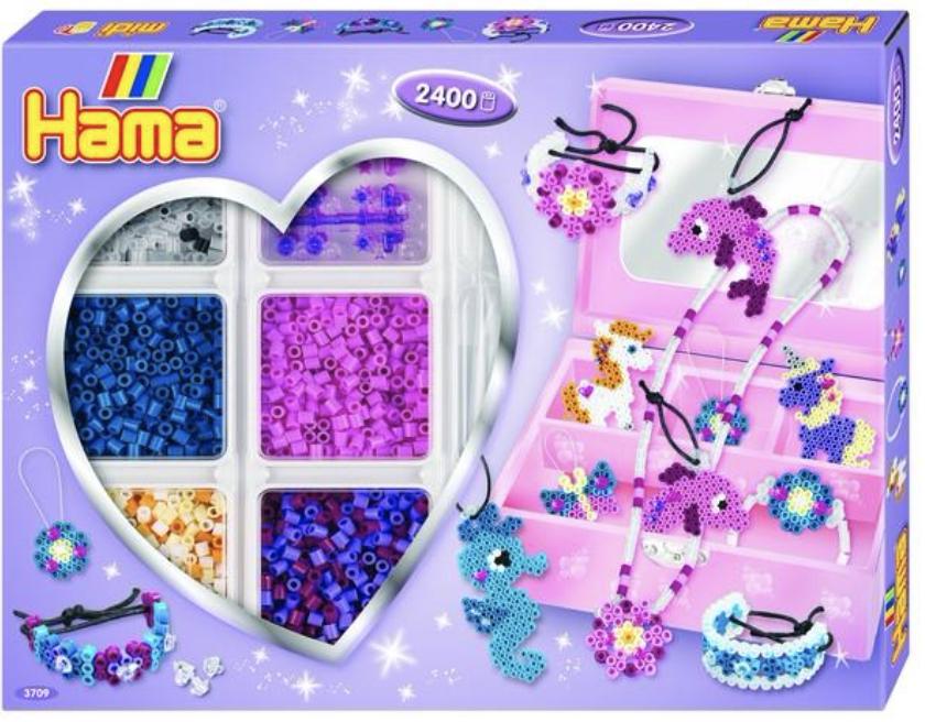 Hama Bead Box Kit Purple