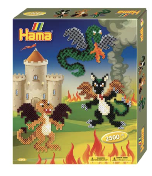 Hama Midi Dragons