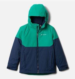 Columbia Alpine Action II Jacket Collegiate Navy Heather, Emerald Green