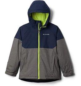 Columbia Alpine Action™ II Jacket - City Grey Heather, Collegiate Navy