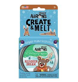 Crazy Aaron's Thinking Putty Crazy Aaron's Create & Melt - Reindeer Dream