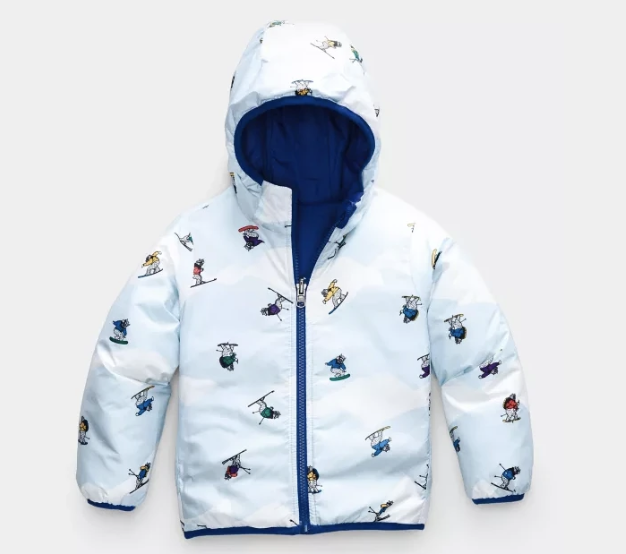 The North Face Toddler Reversible Perrito Jacket TNF Blue