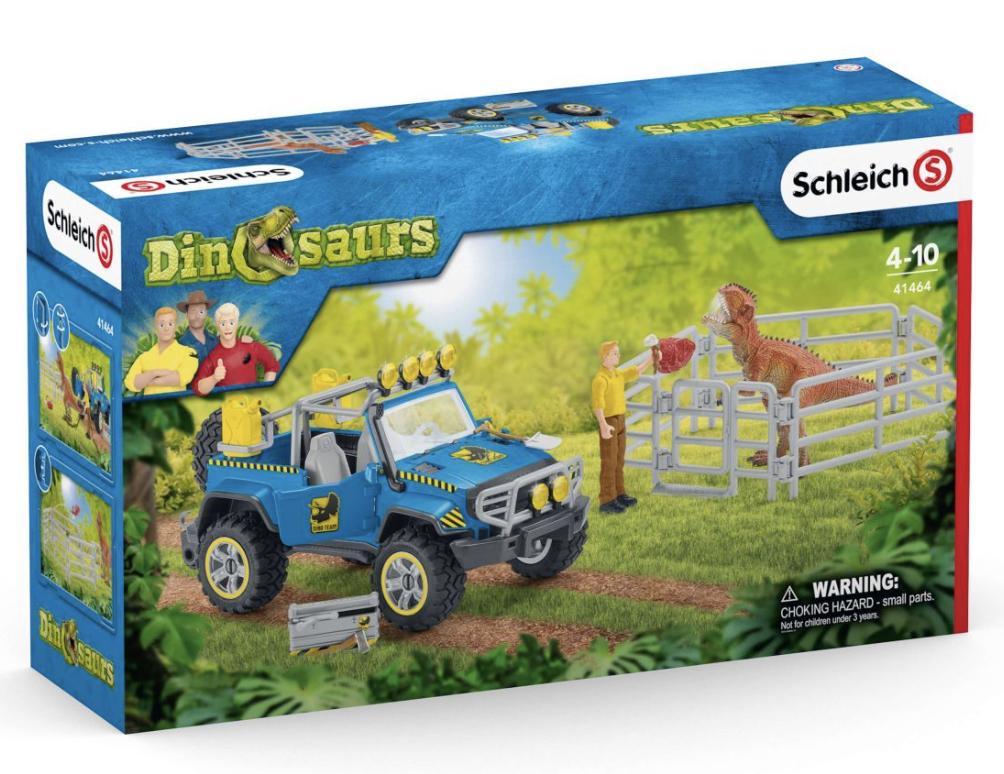 Schleich Off-Road Vehicle w Dino outpost