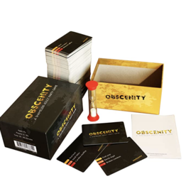 Obscenity: A Shameless Adult Party Game