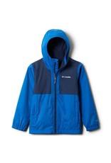 Columbia Rainy Trails Fleece Lined Jacket Bright Indigo Coll Navy