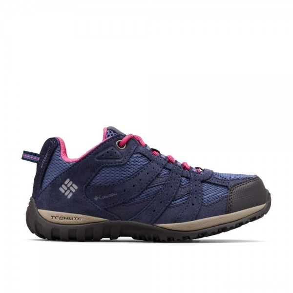 Columbia Youth Redmond Bluebell/Pink Ice Shoe