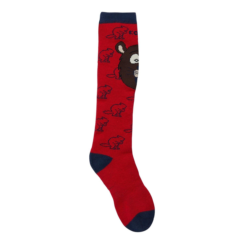 Kombi The Kombi Animal Family Jr Sock Justin the Beaver