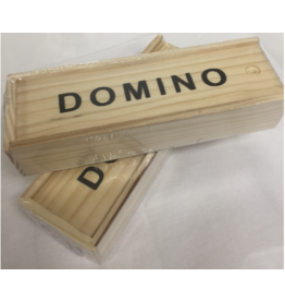 Incredible Wooden Case Dominos Set