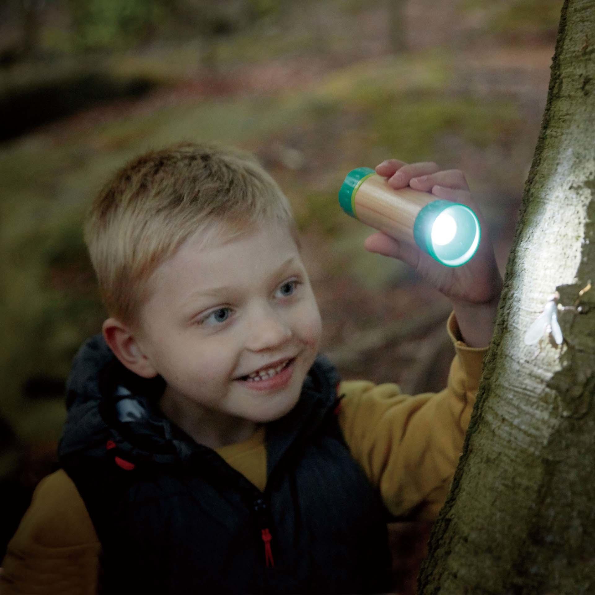 Hape Hand Powered Flashlight