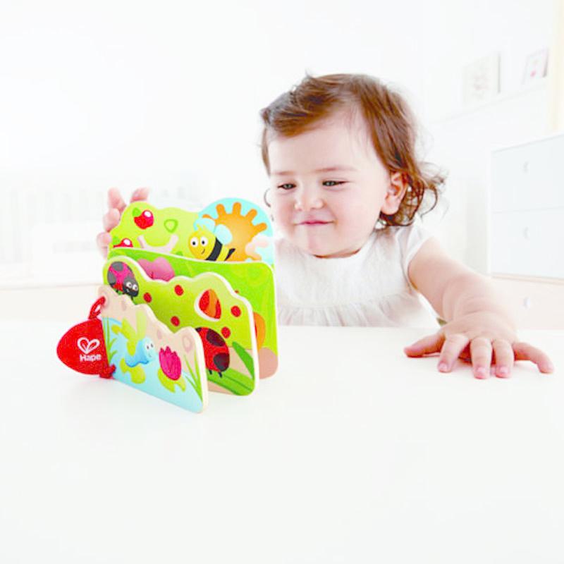 Hape Baby's Bugs Book