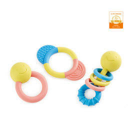 Hape Happy Baby Rattle N Teether