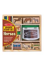 Horse Stamp Set