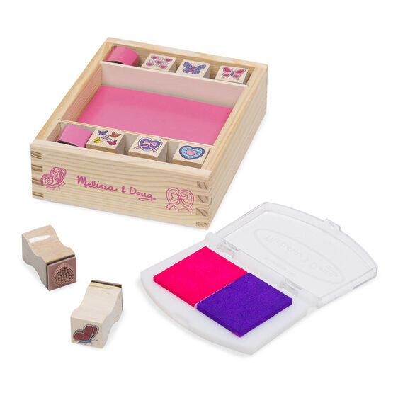 Butterfly & Hearts Stamp Set