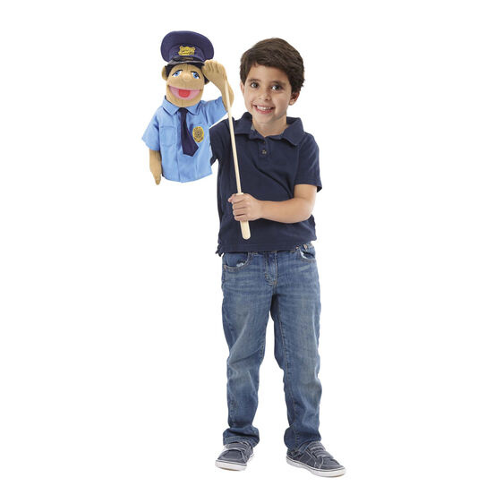 Police office puppet