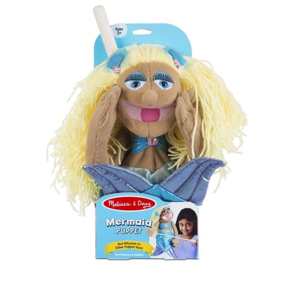 Mermaid puppet