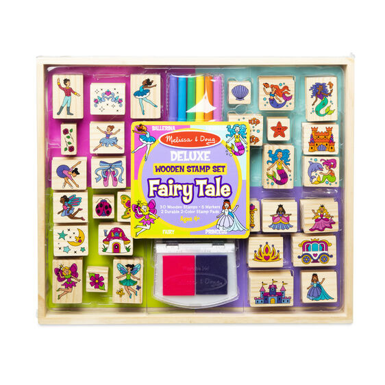 Deluxe Wooden Stamp Set Fairy Tale