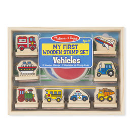 My First Stamp Set - Vehicles