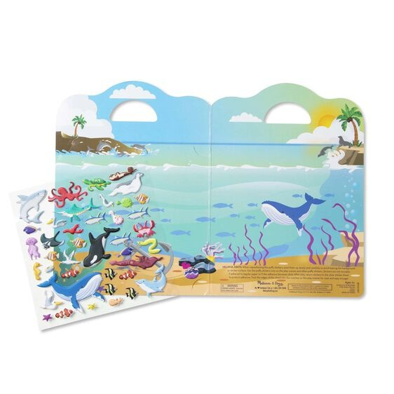 Puffy Sticker Play Set - Ocean