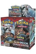 Sun & Moon Crimson Invasion Booster