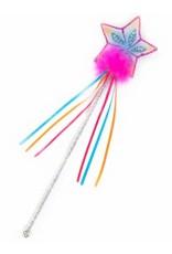 Great Pretenders Glitter Rainbow Wand Fuchsia
