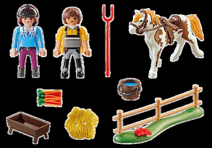 Playmobil Starter Pack Horseback Riding