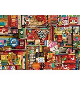 Cobble Hill Vintage Art Supplies (modular 1000)