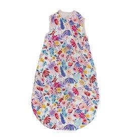 Loulou Lollipop Muslin Sleep Bag 1 Tog - Light Fields Flowers