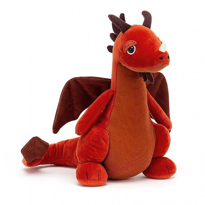 Jellycat I am Paprika Dragon