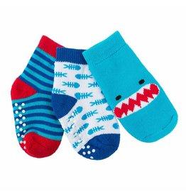 Socks Set Shark 0-24M