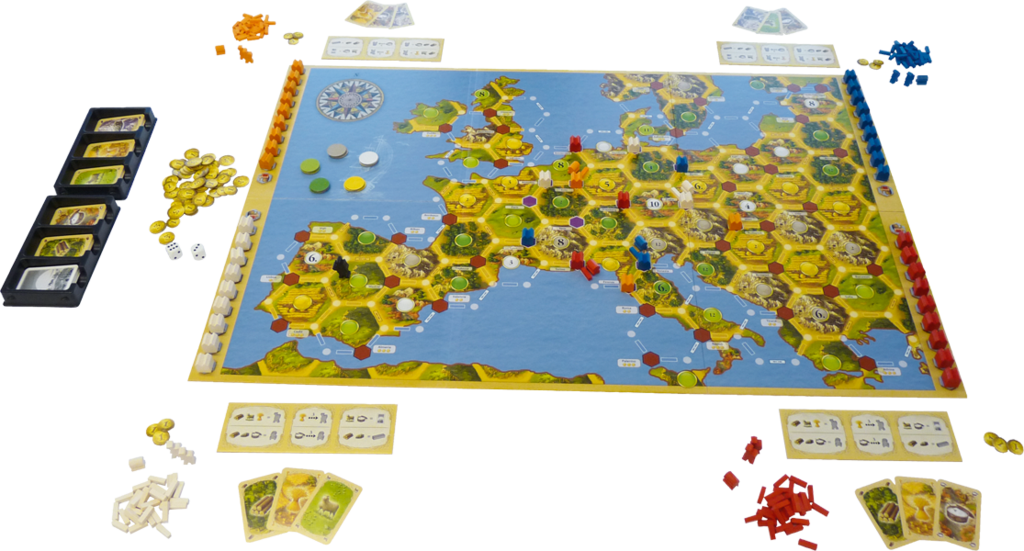 Mayfair Games Inc Catan: Merchants of Europe