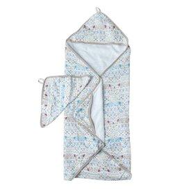 Loulou Lollipop Hooded Towel Set - Polar Bear
