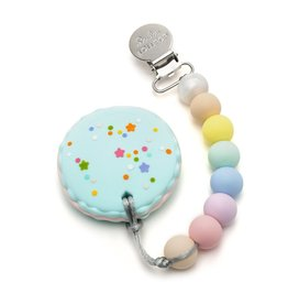 Loulou Lollipop Silicone Teether Set - Macaron - Cotton Candy