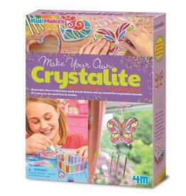 4M Crystallite Wind Chime/Trinket Box