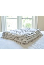 Cheryl's Home & Family The Huggler Weighted Blanket White 12 lbs