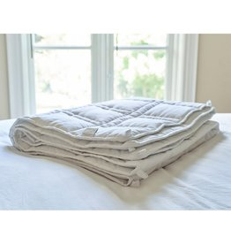 Cheryl's Home & Family The Huggler Weighted Blanket White 12 lbs Twin