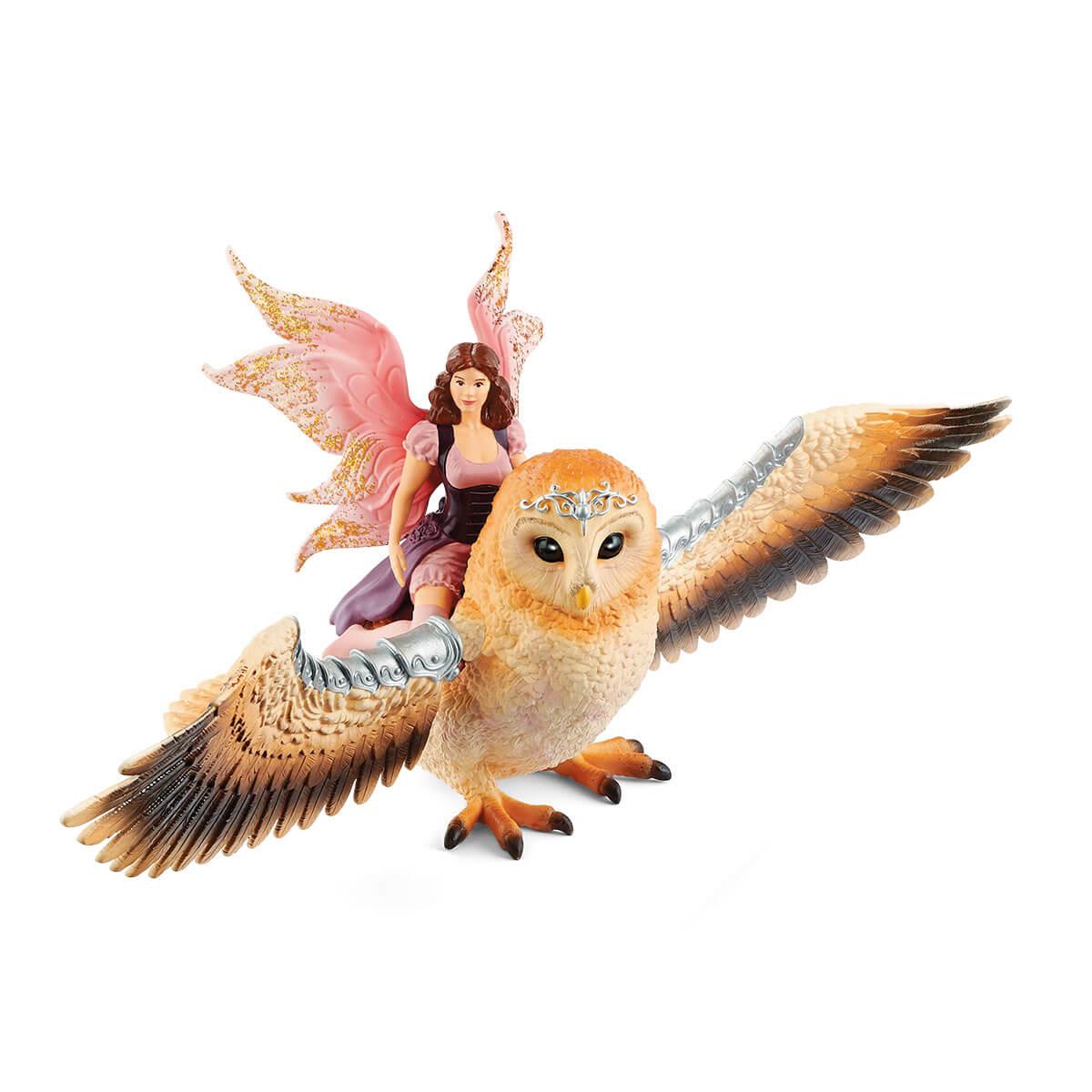 Schleich Fairy in Flight on Glam-Owl