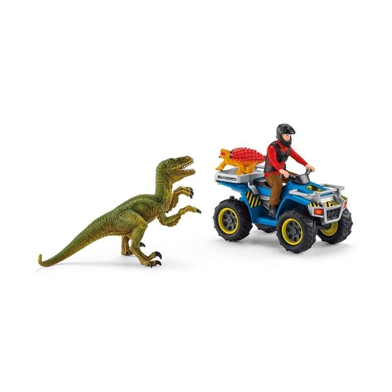 Schleich Quad Escape from Velociraptor