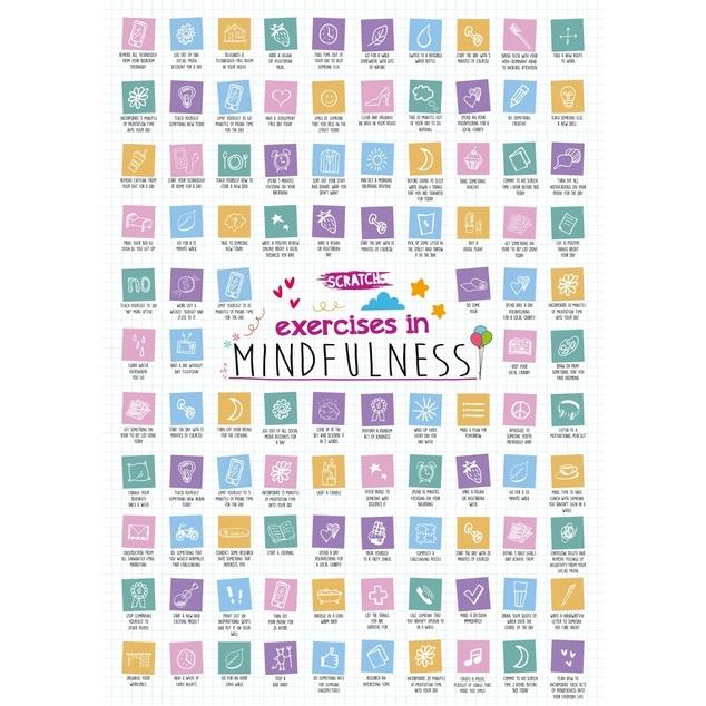 Island Dogs Mindfulness Scratch Poster