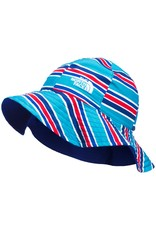 The North Face Littles Brimmer Meridian Blue Painted Stripe Print