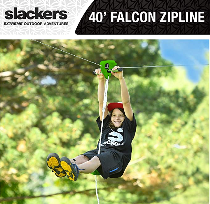 B4 Adventure 40' Zipline Falcon Flyer